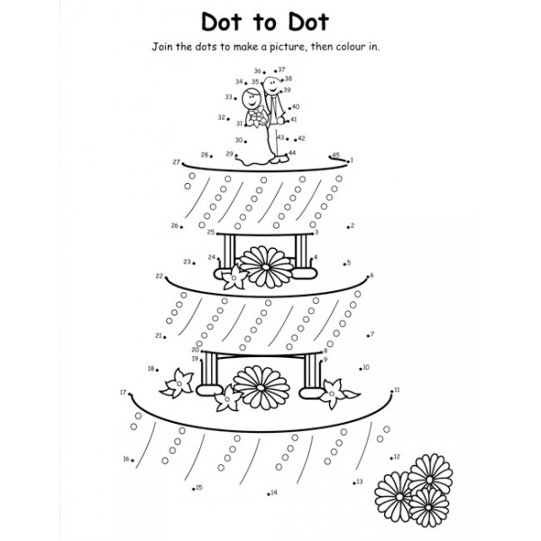 Colouring books for Wedding activity coloring pages